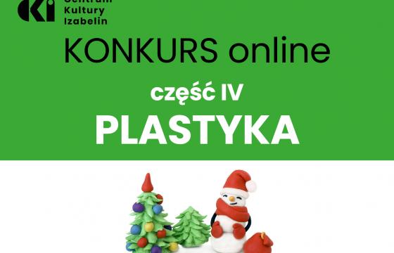 plakat ifnormujący o konkursie plastycznym online